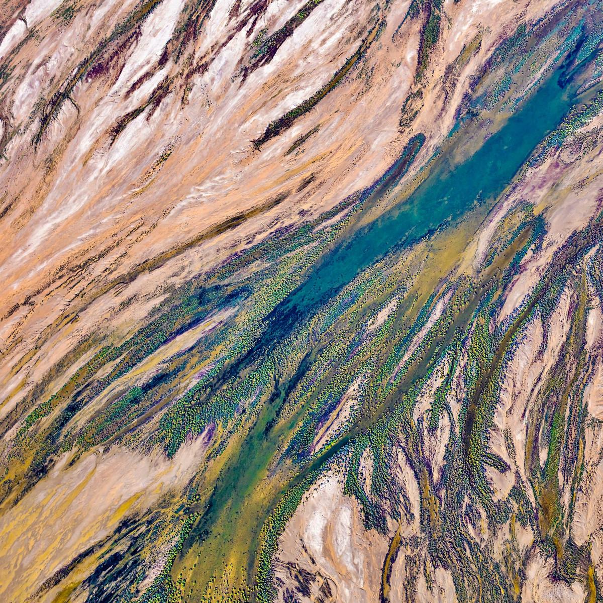 Озеро Эйр в аэрофотографиях 5