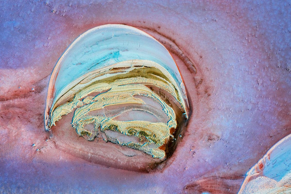 Озеро Эйр в аэрофотографиях 9