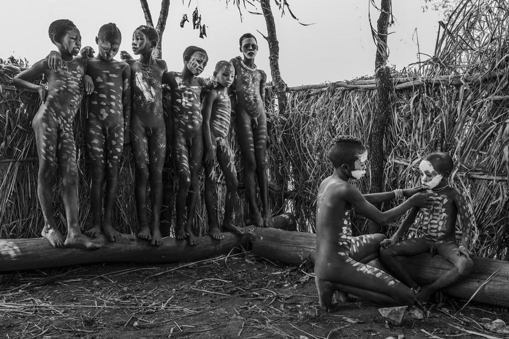 Cambodia naked man