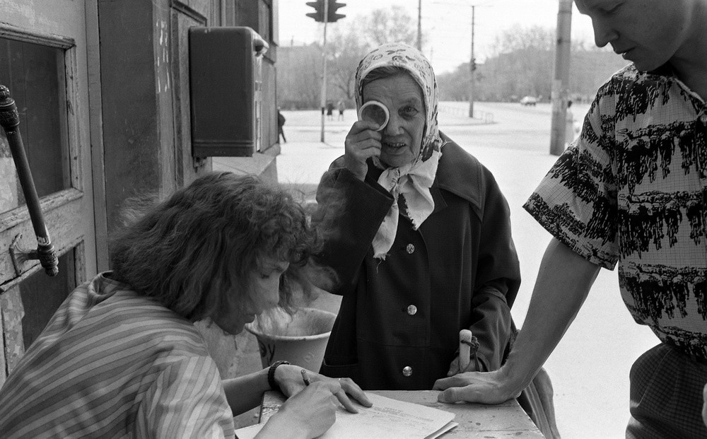 Социалистическая реальность в документальных фотографиях Владимира Воробьева 4