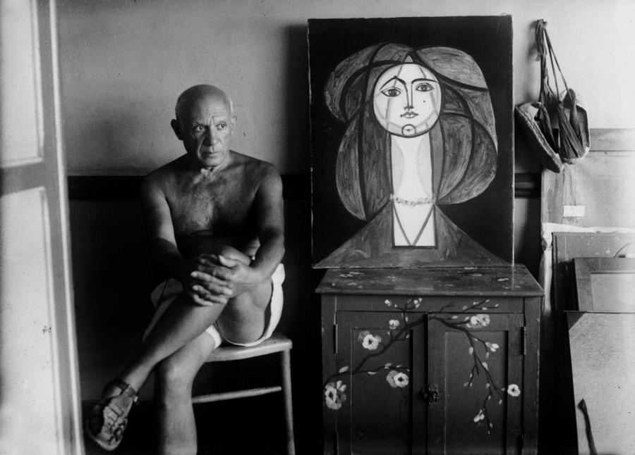 Фотопортреты художников, с которыми дружил Мишель Сима 18