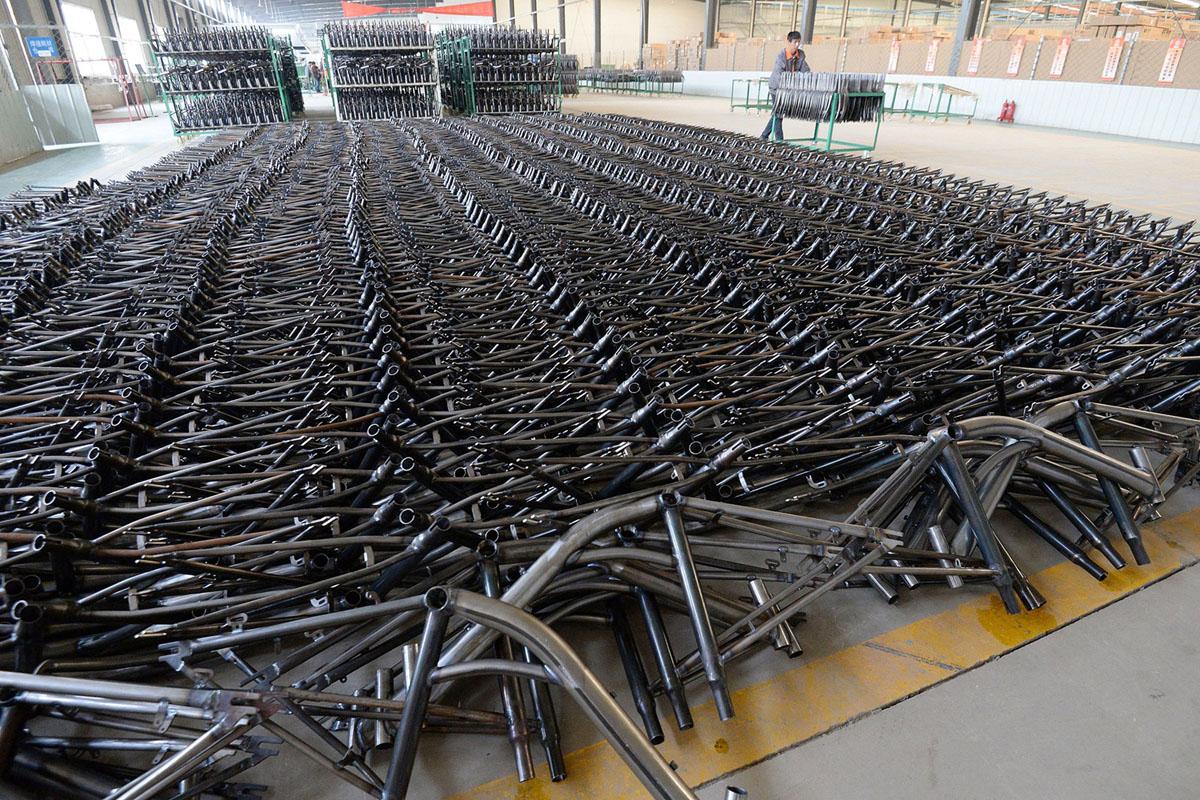 Велопрокат в Китае. Фоторепортаж 21