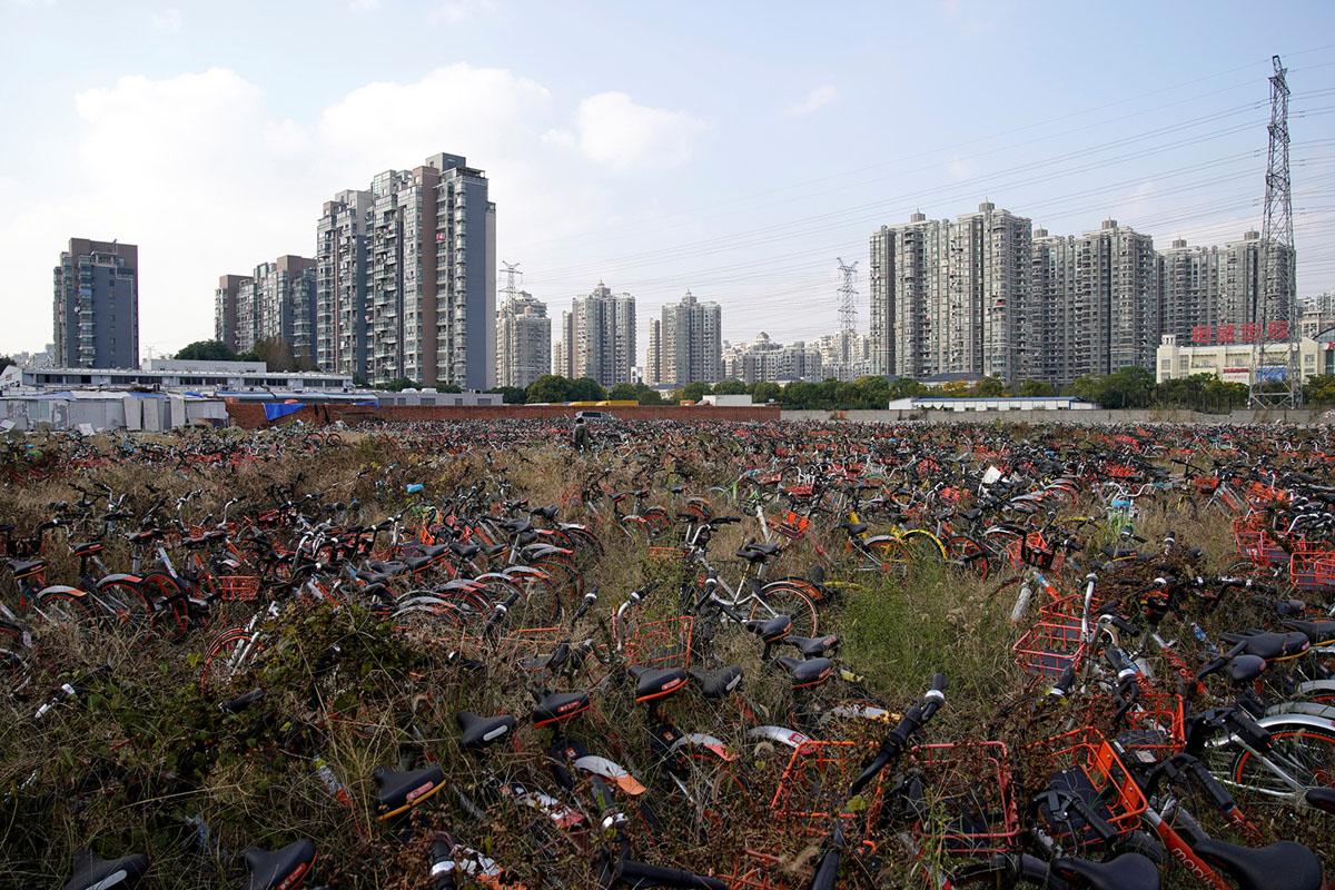 Велопрокат в Китае. Фоторепортаж 24