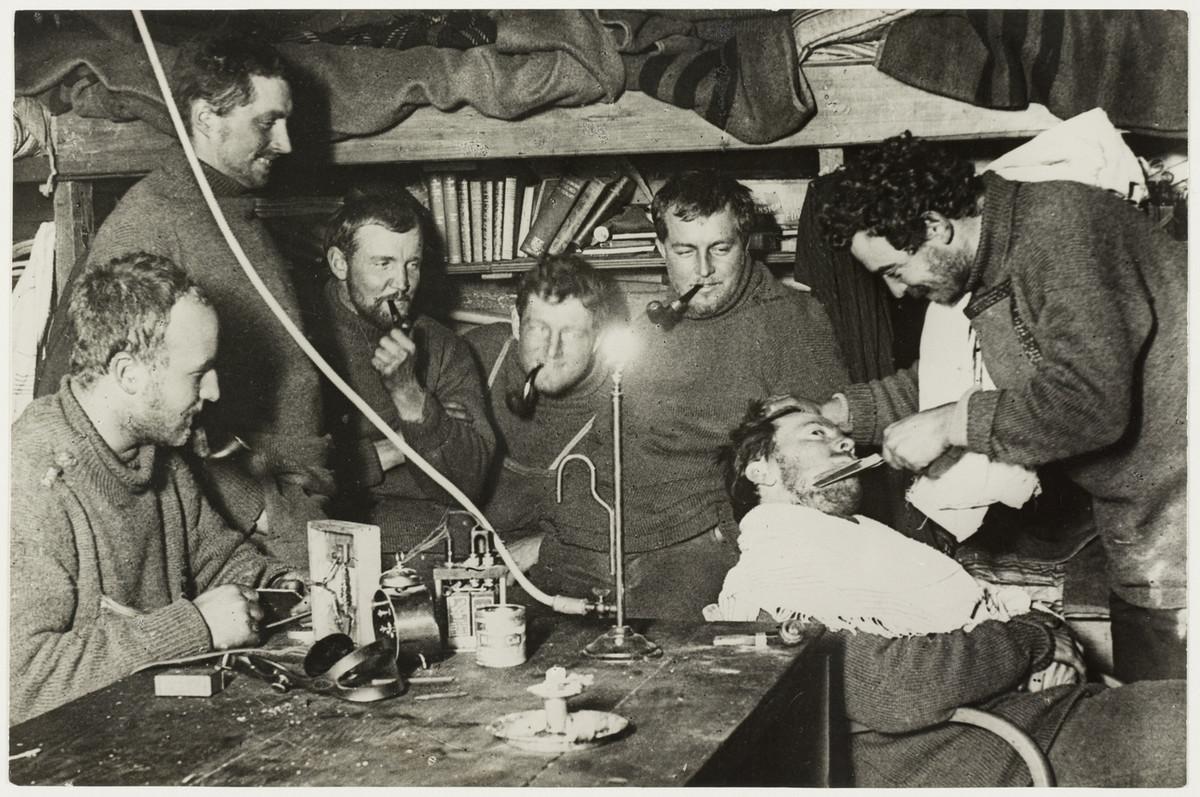 Первая Австралийская антарктическая экспедиция в фотографиях Фрэнка Хёрли 1911-1914 17