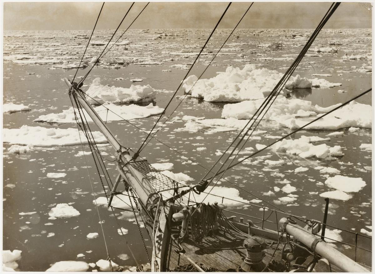 Первая Австралийская антарктическая экспедиция в фотографиях Фрэнка Хёрли 1911-1914 42