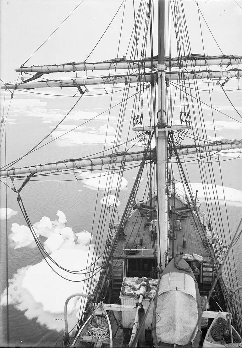 Первая Австралийская антарктическая экспедиция в фотографиях Фрэнка Хёрли 1911-1914 50