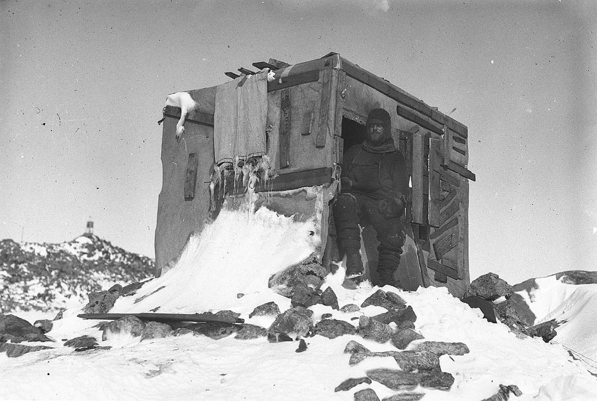 Первая Австралийская антарктическая экспедиция в фотографиях Фрэнка Хёрли 1911-1914 52