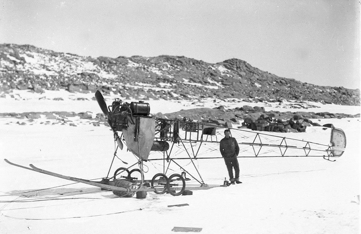 Первая Австралийская антарктическая экспедиция в фотографиях Фрэнка Хёрли 1911-1914 62