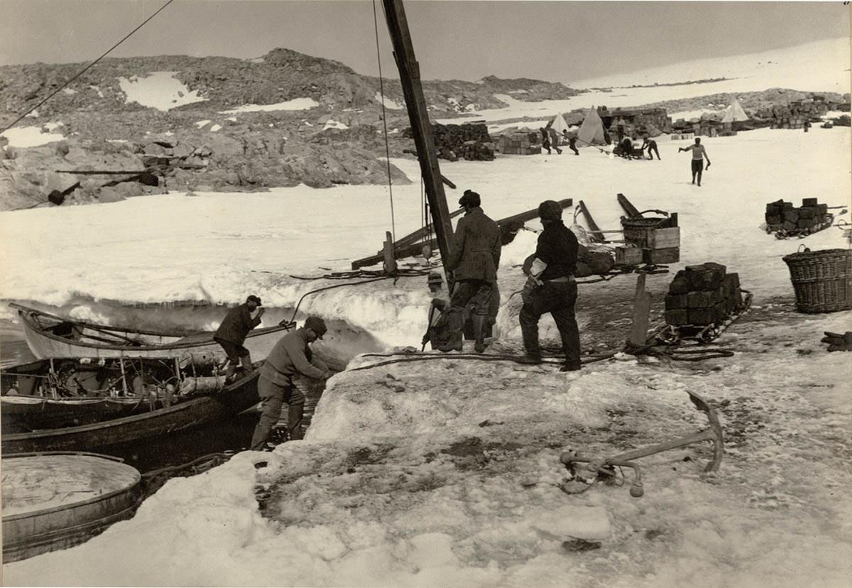 Первая Австралийская антарктическая экспедиция в фотографиях Фрэнка Хёрли 1911-1914 63