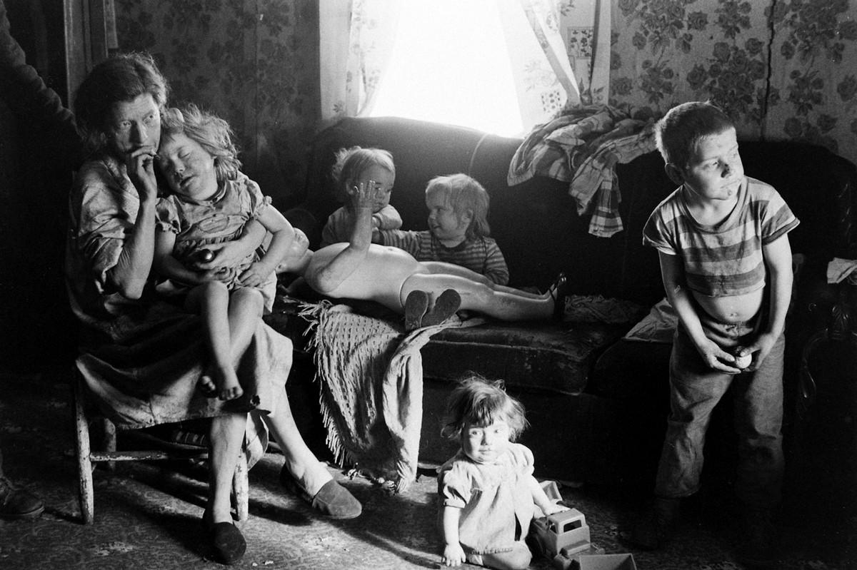 США - «Долина бедности»: повседневная жизнь восточного Кентукки в начале 1960-х (Много фото)