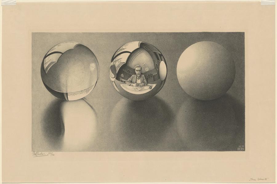 Онлайн-архив: оптические иллюзии и невозможные гравюры Маурица Эшера 3