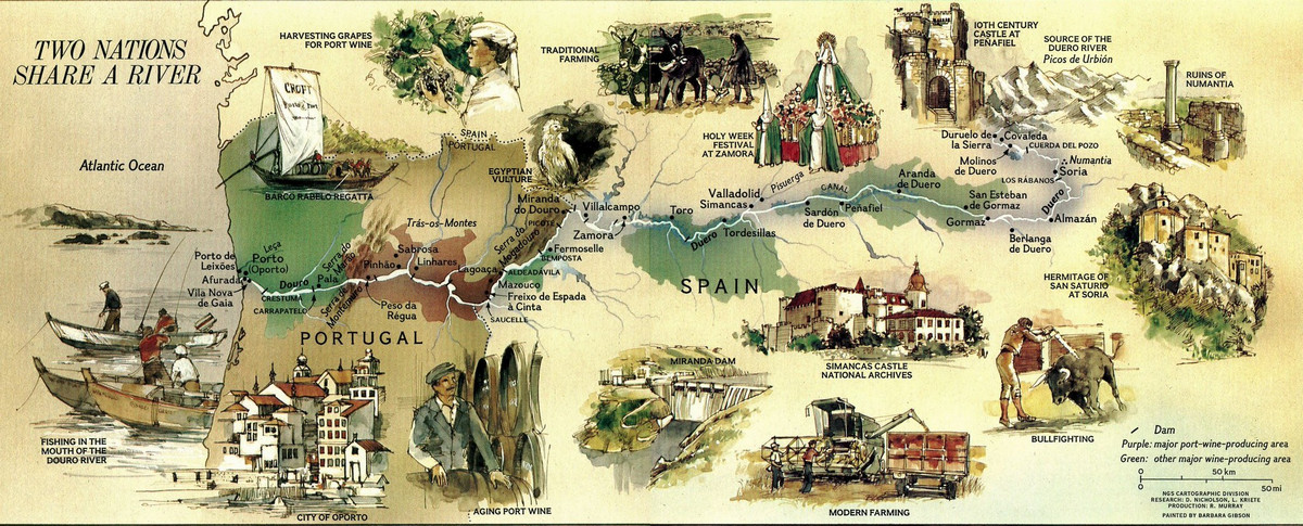 National Geographic оцифровал свою коллекцию карт за 130 лет. От карт звёзд до океанского дна  8