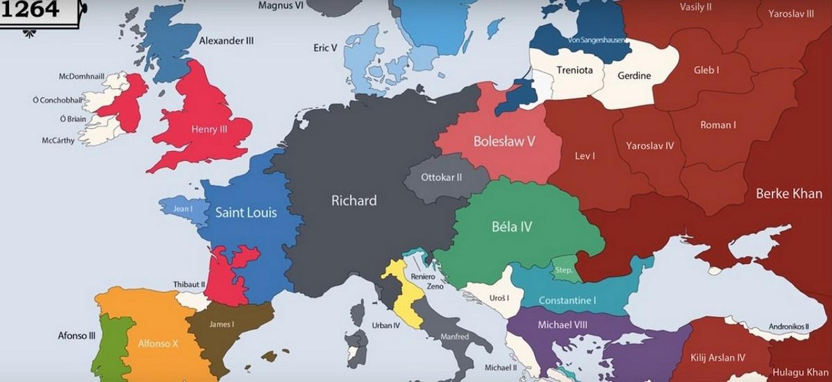 Все правители Европы за последние 2400 лет в анимированной карте (с 400 г. до н. э. по 2017 г.) суверена, имена, может, формы, правления, деспотизм, власти, таких, истории, Когда, границы, например, нашей, Европе, правители, история, внешними, уставами, королей, кодексами