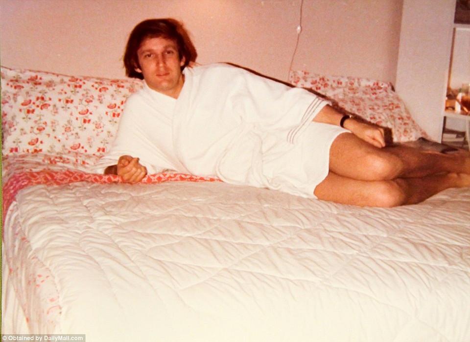 Семейные фотографии Дональда Трампа, найденные в комиссионном магазине 1