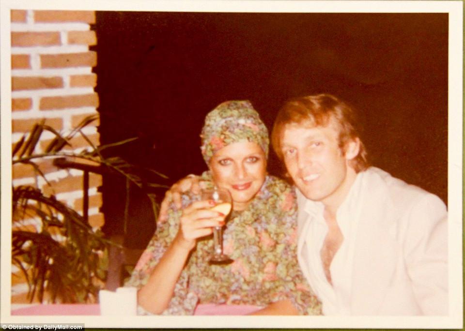 Семейные фотографии Дональда Трампа, найденные в комиссионном магазине 12