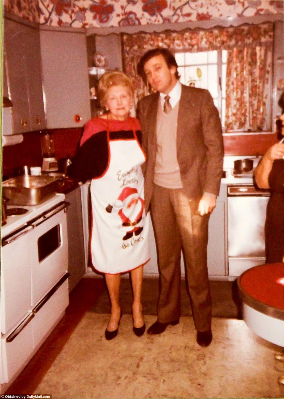 Семейные фотографии Дональда Трампа, найденные в комиссионном магазине 18