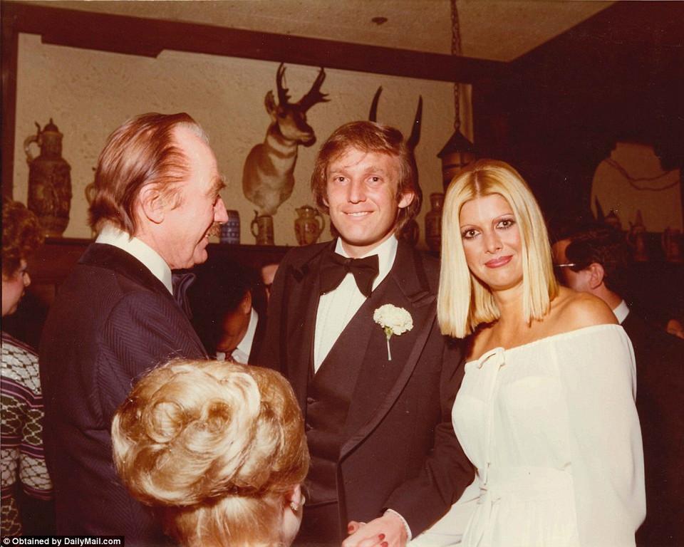 Семейные фотографии Дональда Трампа, найденные в комиссионном магазине 19