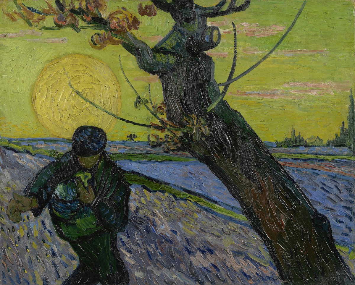 Почти 1000 картин и рисунков Винсента Ван Гога в свободном доступе