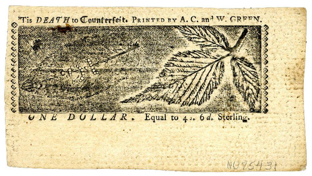 дизайн американских банкнот 1