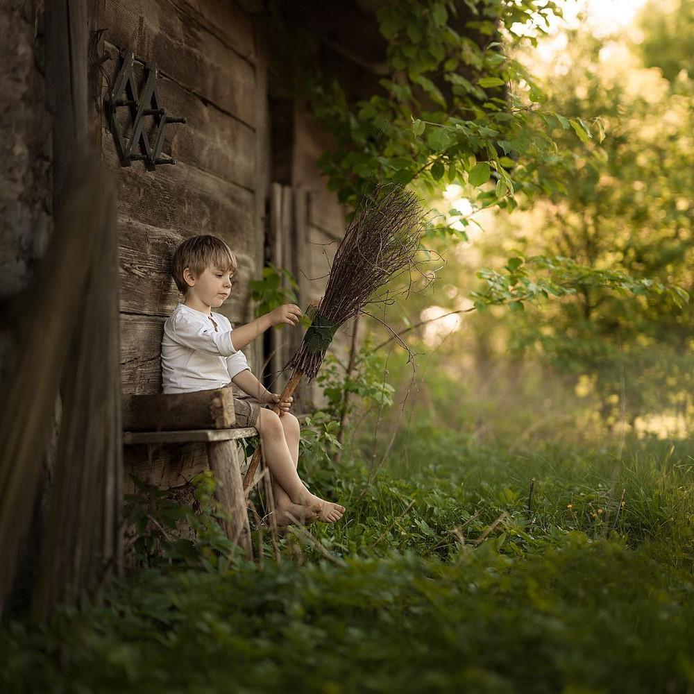 Ивона Подласинска фотографирует детство 13