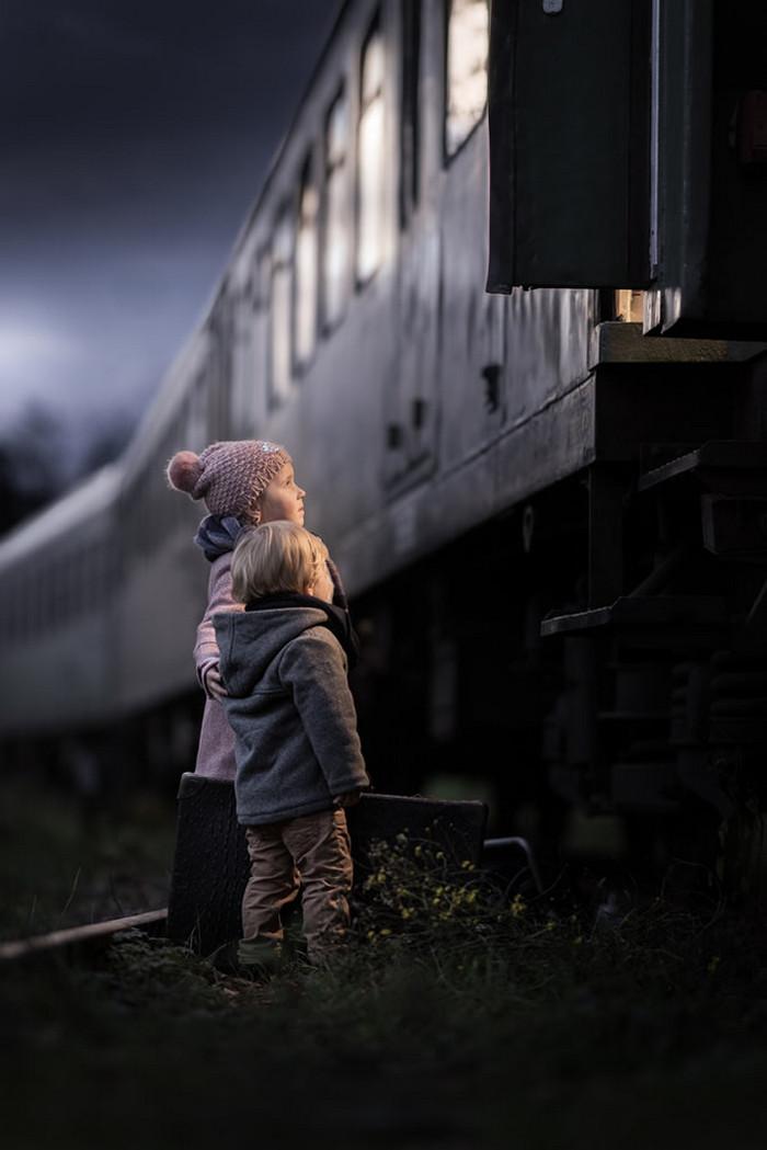 Ивона Подласинска фотографирует детство 28