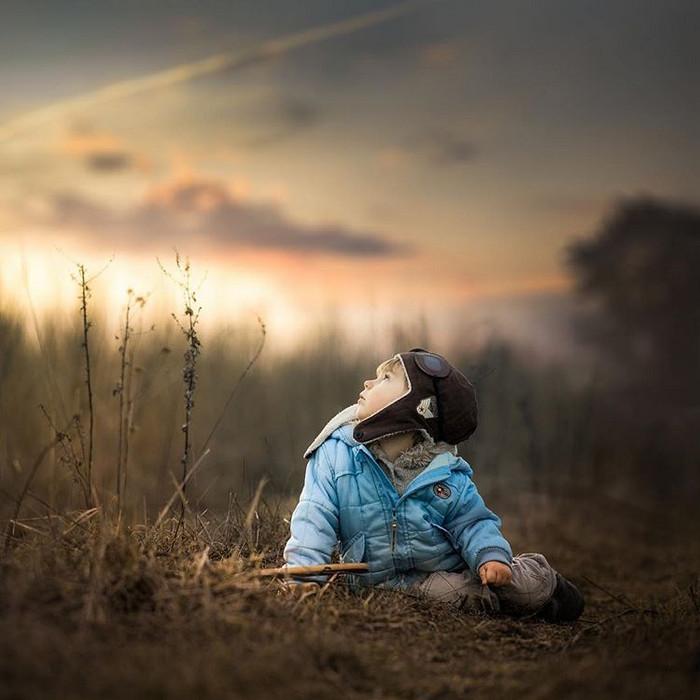 Ивона Подласинска фотографирует детство 35