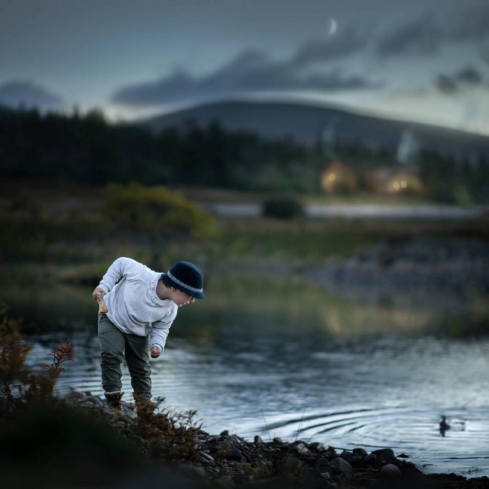 Ивона Подласинска фотографирует детство 9