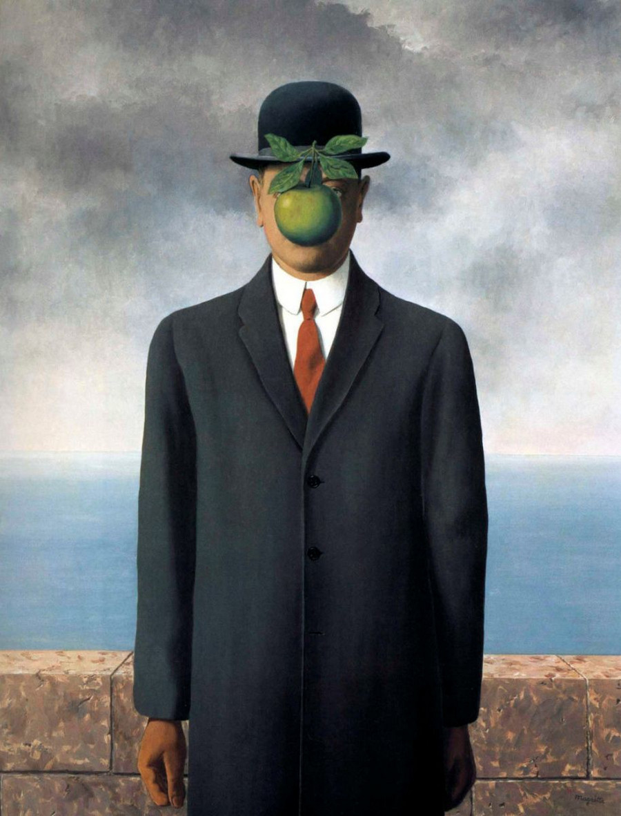 почему Рене Магритт был помешан на шляпах 10