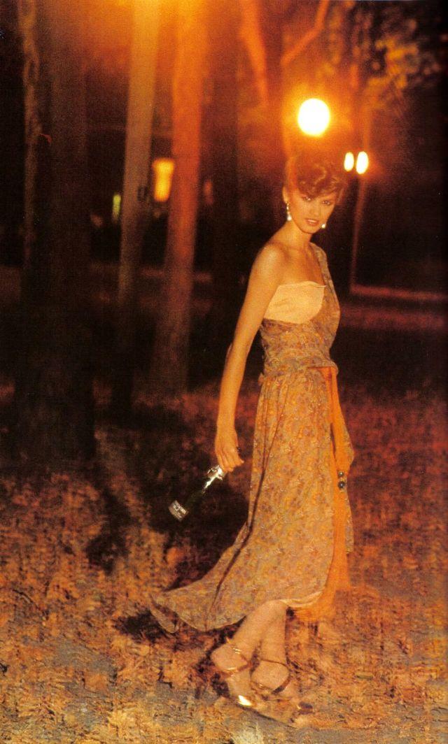 Слишком красивая Джиа Каранджи в фотографиях 1970-80-х годов 1