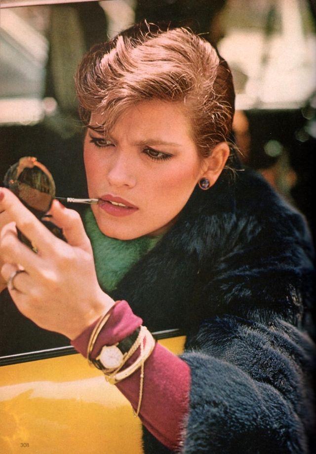 Слишком красивая Джиа Каранджи в фотографиях 1970-80-х годов 12