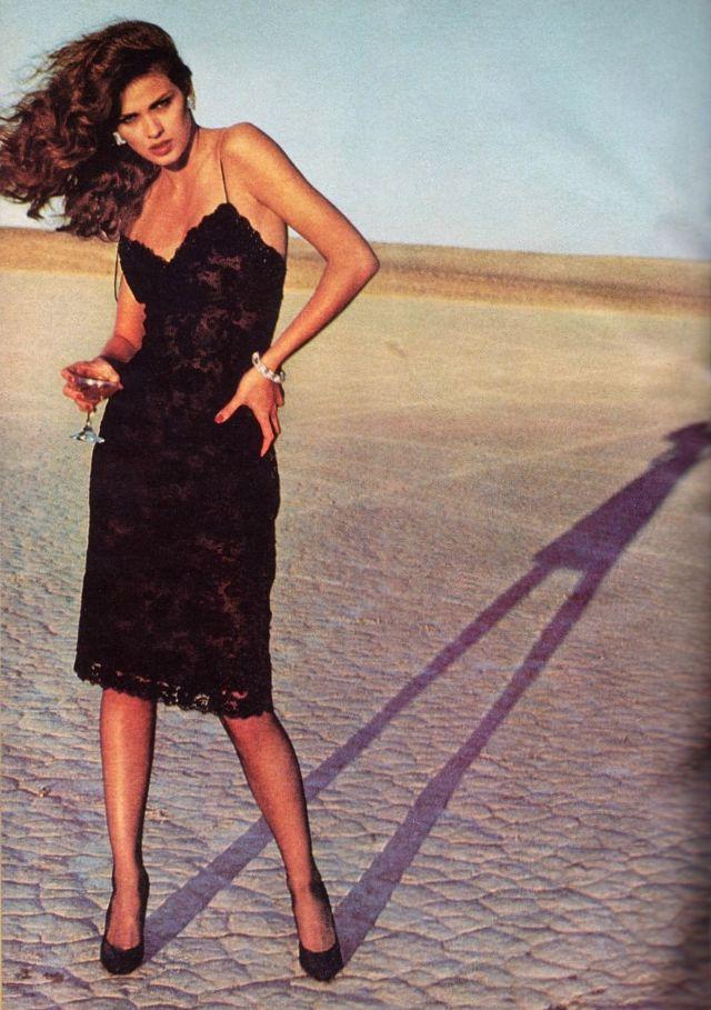 Слишком красивая Джиа Каранджи в фотографиях 1970-80-х годов 15