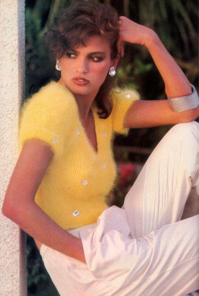 Слишком красивая Джиа Каранджи в фотографиях 1970-80-х годов 41