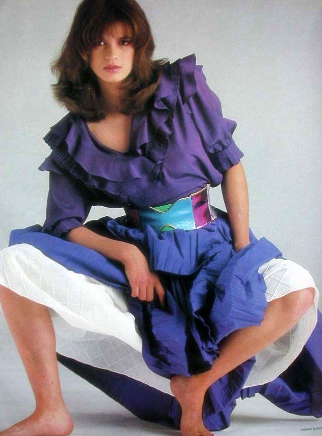 Слишком красивая Джиа Каранджи в фотографиях 1970-80-х годов 46