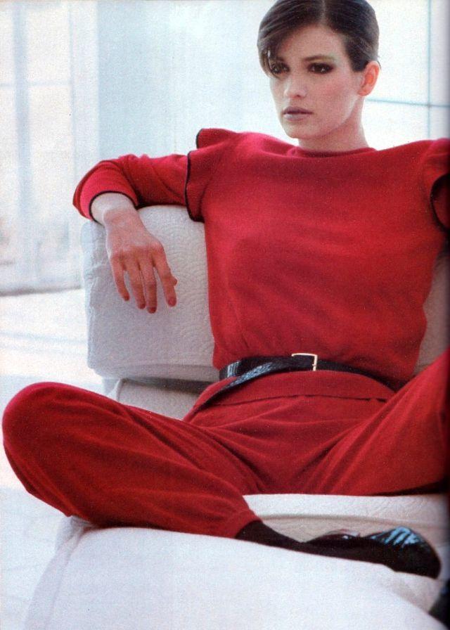 Слишком красивая Джиа Каранджи в фотографиях 1970-80-х годов 47