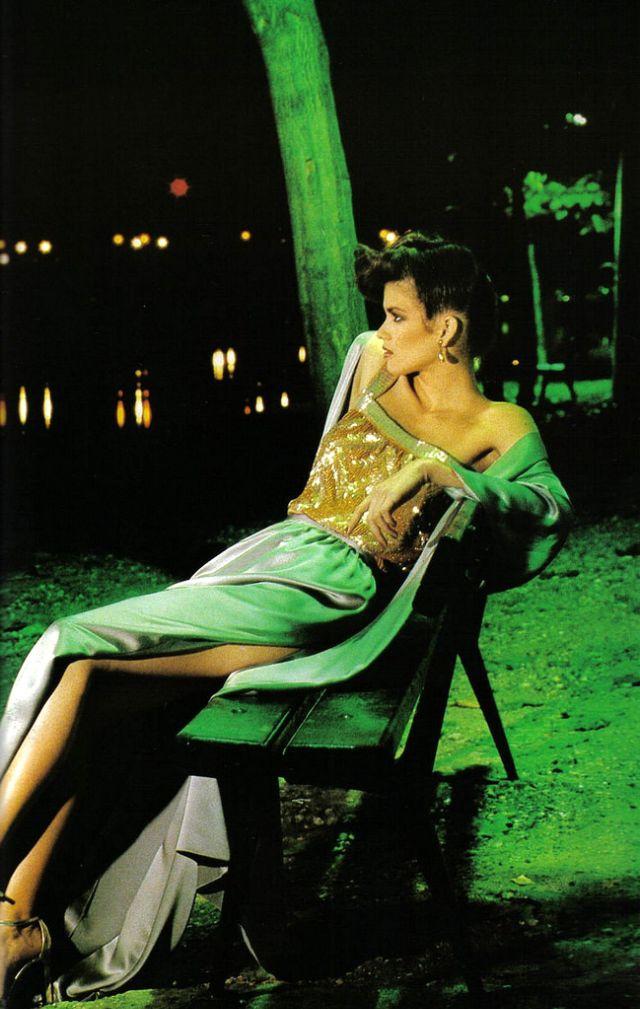 Слишком красивая Джиа Каранджи в фотографиях 1970-80-х годов 6