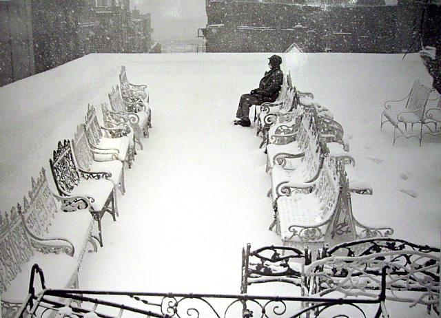 Луи Фаурер – лирик с фотокамерой на улицах Нью-Йорка 1