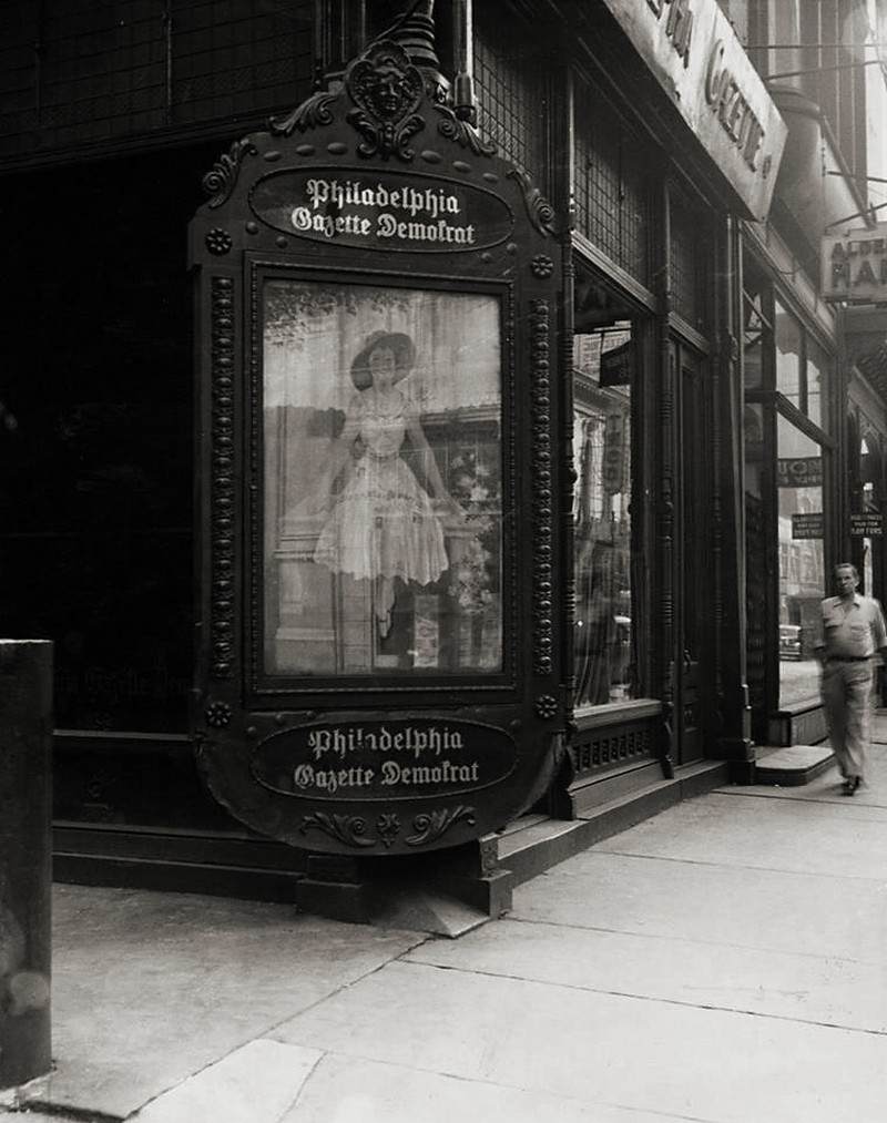 Луи Фаурер – лирик с фотокамерой на улицах Нью-Йорка 13
