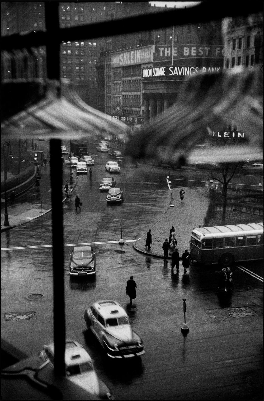 Луи Фаурер – лирик с фотокамерой на улицах Нью-Йорка 14