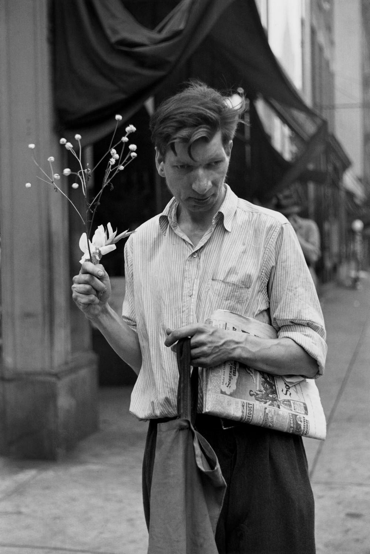 Луи Фаурер – лирик с фотокамерой на улицах Нью-Йорка 16