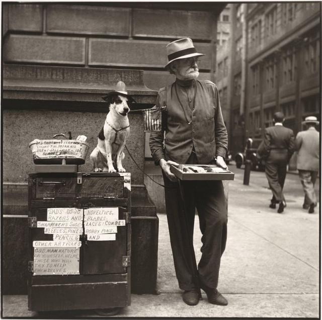 Луи Фаурер – лирик с фотокамерой на улицах Нью-Йорка 21