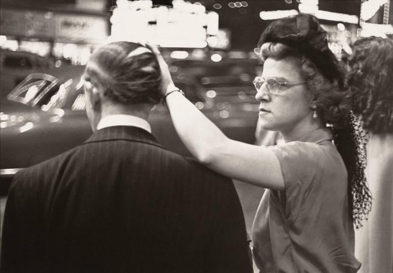Луи Фаурер – лирик с фотокамерой на улицах Нью-Йорка 22
