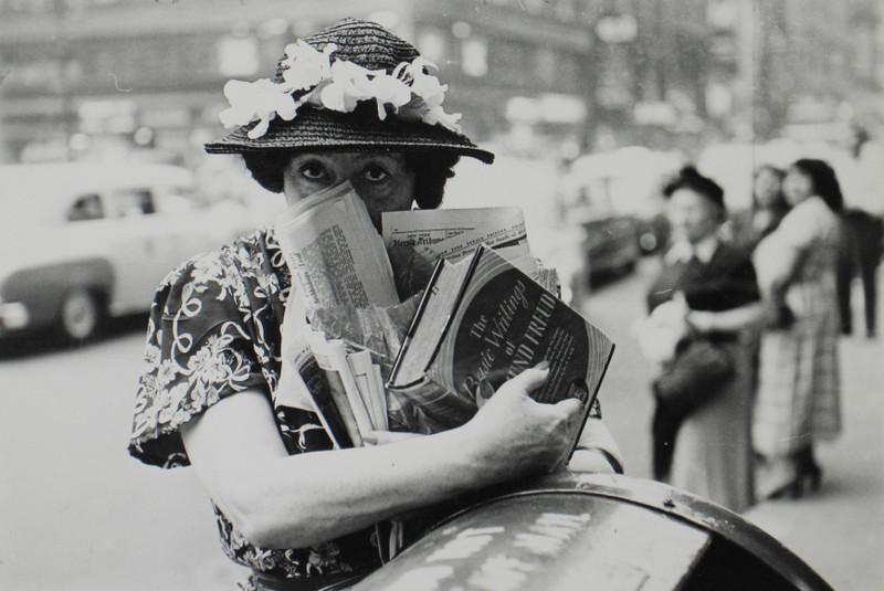 Луи Фаурер – лирик с фотокамерой на улицах Нью-Йорка 27