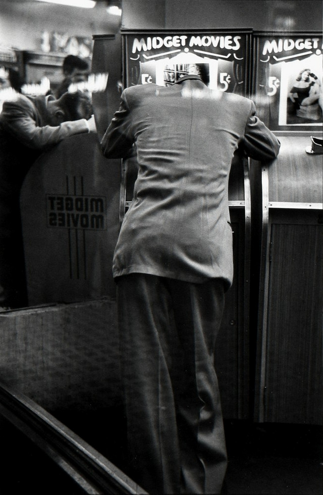 Луи Фаурер – лирик с фотокамерой на улицах Нью-Йорка 32