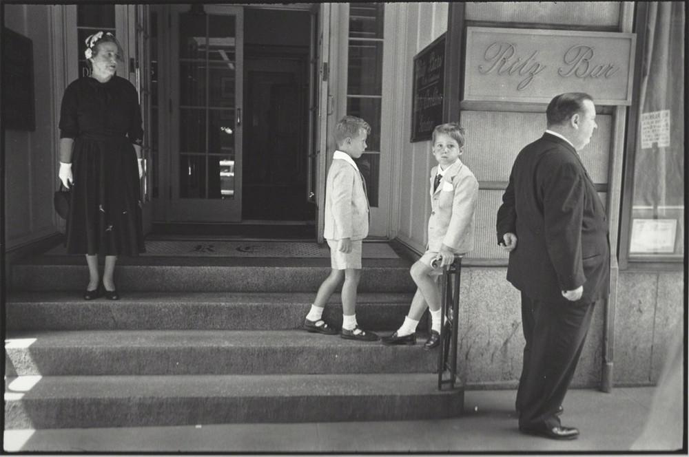 Луи Фаурер – лирик с фотокамерой на улицах Нью-Йорка 38