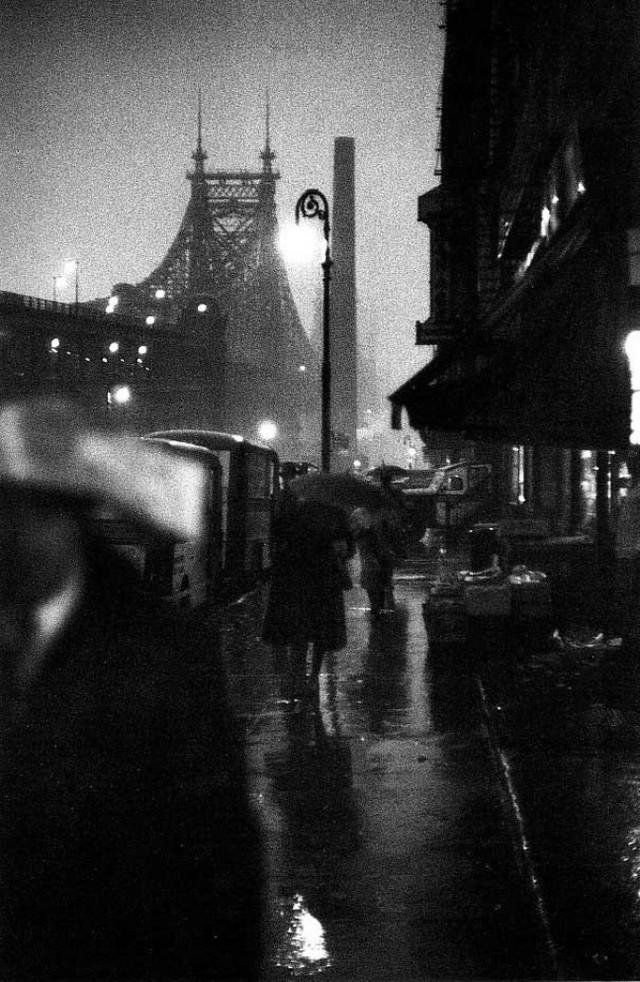 Луи Фаурер – лирик с фотокамерой на улицах Нью-Йорка 45