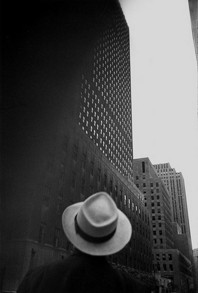 Луи Фаурер – лирик с фотокамерой на улицах Нью-Йорка 47
