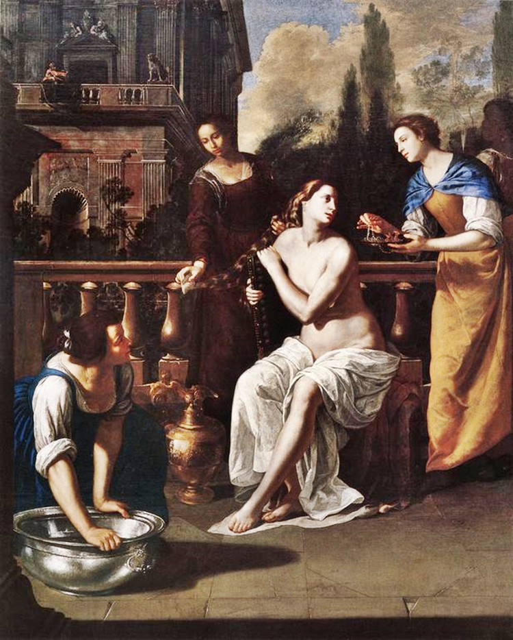 Artemisia Gentileschi David and Bathsheba