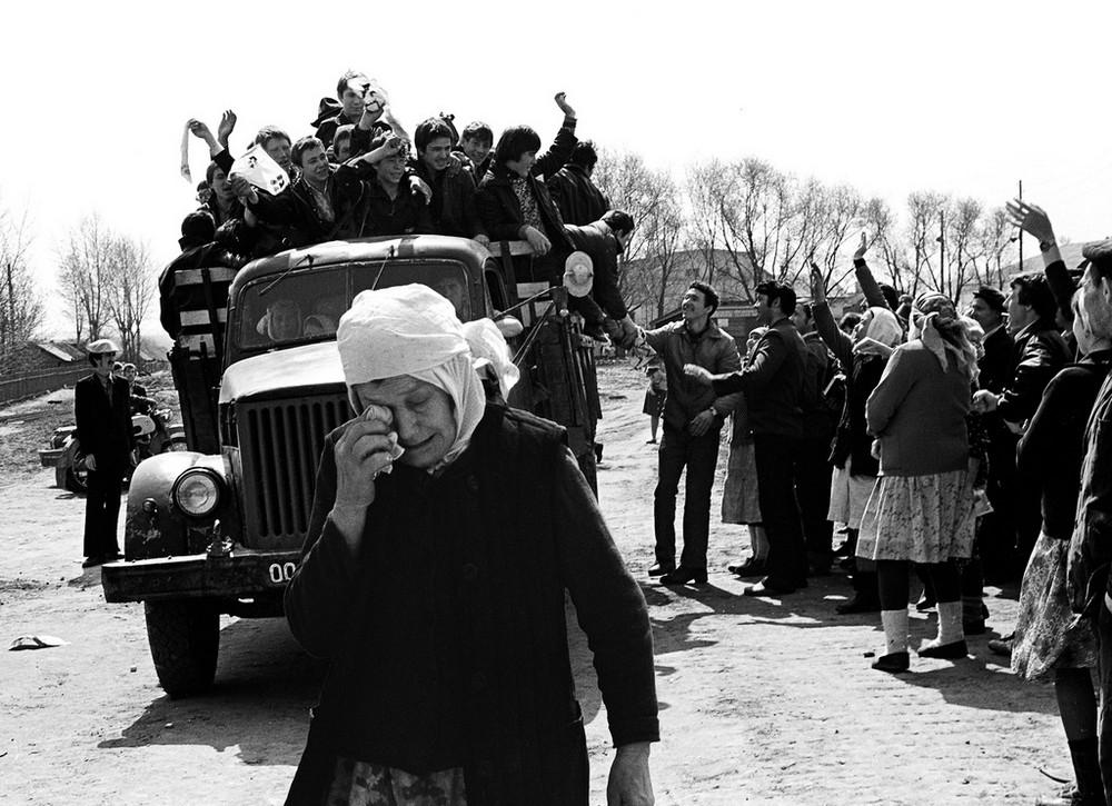Люди и их чувства на снимках 1960-80-х годов казанского фотографа Рустама Мухаметзянова 37