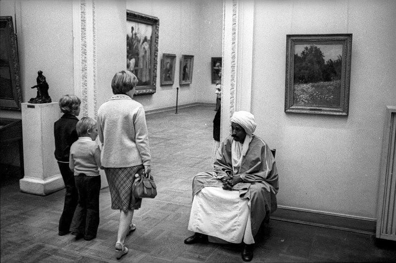 Великие, простые, красивые: люди на снимках советского фотографа Александра Стешанова 43