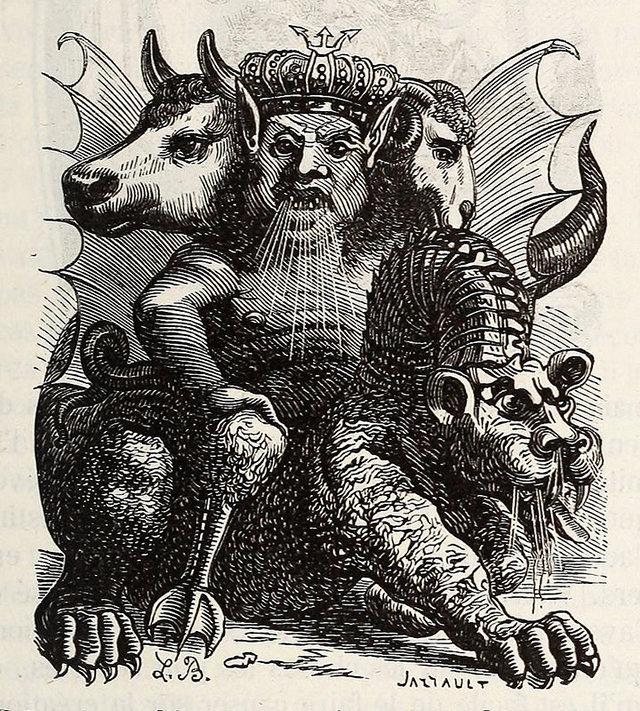 Занимательная демонология: «Инфернальный словарь» с блистательными иллюстрациями воплощений дьявола 5